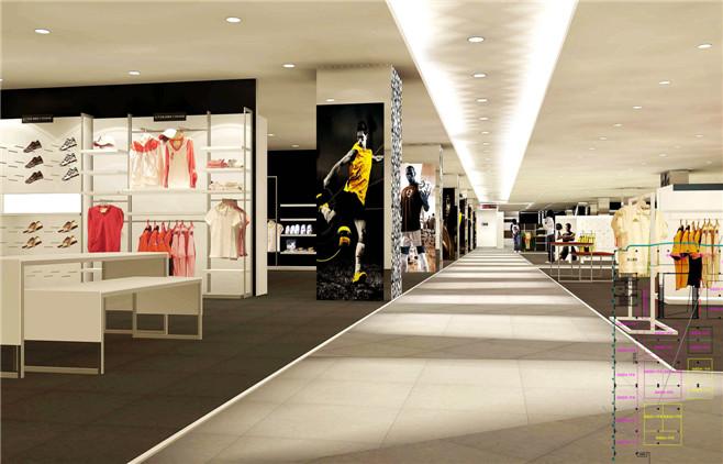 从业态布局的角度出发,传统意义上的百货商场首先应从该地区的消费