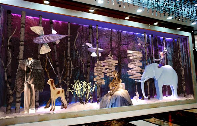 万千橱窗美陈设计 商场设计 购物中心设计 商业综合体