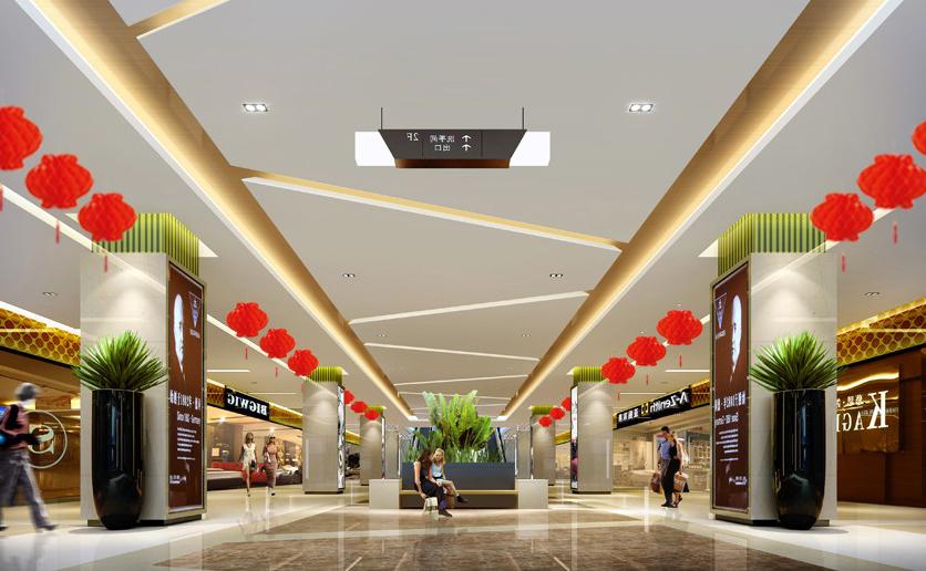 商场设计的视觉感受|商场设计|购物中心设计|商业
