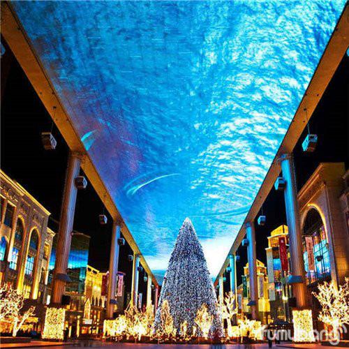 北京各大商场,购物中心圣诞节最美灯光设计集锦