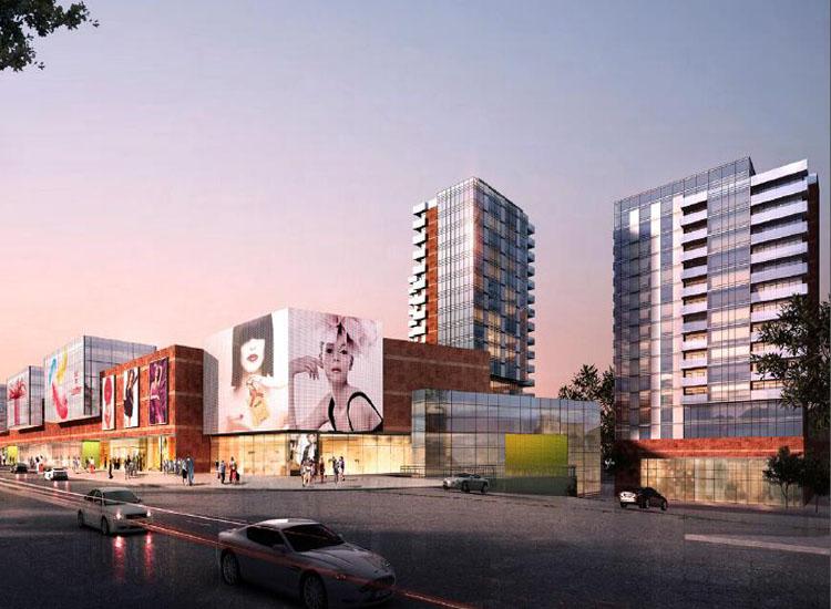 钟秀山城市广场|商场设计|购物中心设计|商业综合体